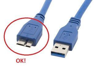 Tak ma wyglądać kabel od strony kieszenii