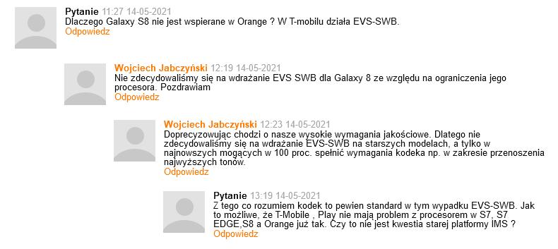 Odpowiedź Rzecznika Orange - EVS dla Samsunga Galaxy S8.png