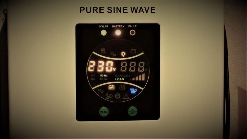 Kontrola przetwornicy 230V~ 700W