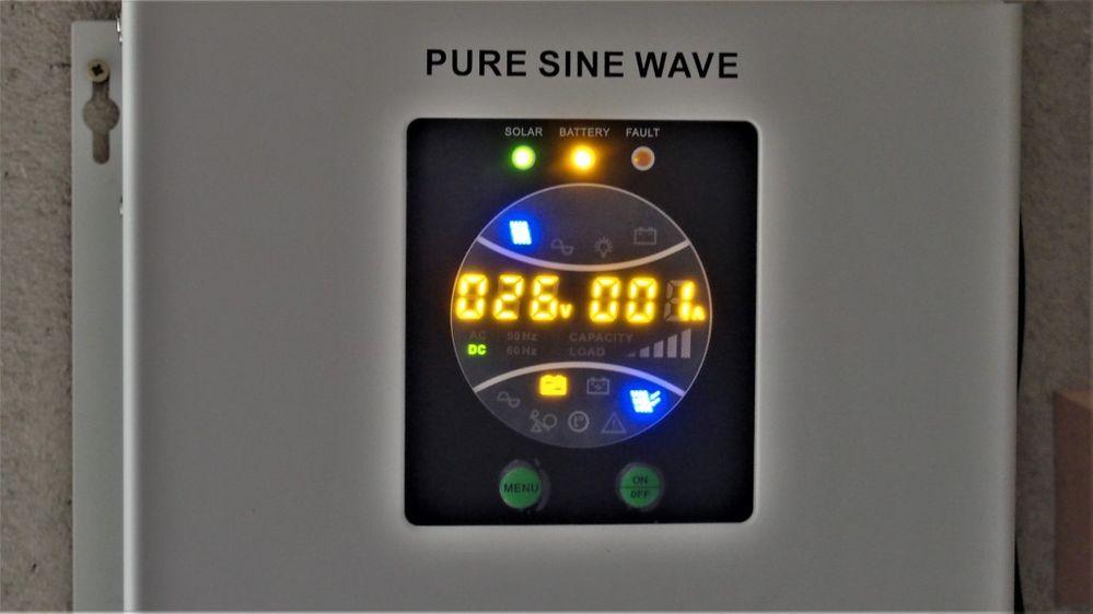 Pulpit kontroli ładowania akumulatorów 12V 200Ah